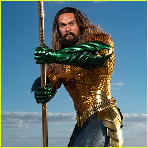 Madame Tussauds Debuts Jason Momoa's Aquaman Wax Figure!