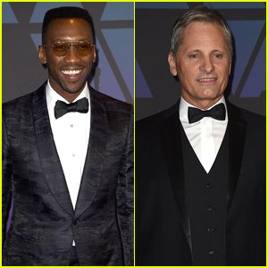 Green Book's Mahershala Ali & Viggo Mortensen Suit Up for Governors Awards 2018