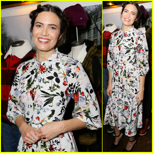 Mandy Moore Kicks Off Eddie Bauer's Holiday Adventure Campaign