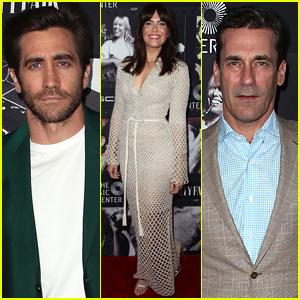 Mandy Moore Joins Jake Gyllenhaal & Jon Hamm at Joni Mitchell's Birthday Celebration!