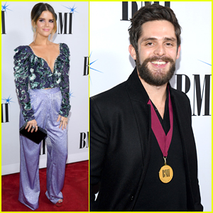 Maren Morris Joins Thomas Rhett at BMI Country Awards 2018