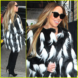Mariah Carey Celebrates the First Snow of the Season (Video)