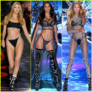 Martha Hunt, Lais Riberio, & Romee Strijd Slay the Victoria's Secret Fashion Show 2018!