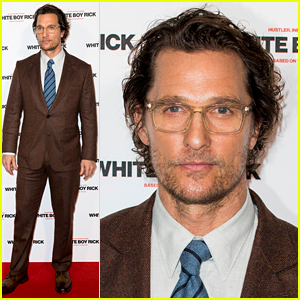 Matthew McConaughey Is Sexy in Specs at 'White Boy Rick' London Screening