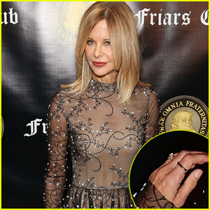 Meg Ryan Shows Off Engagement Ring From John Mellencamp While Honoring Billy Crystal at Friar's Club Event