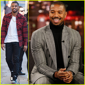 Michael B. Jordan Tells 'Kimmel' Why He Was Cut from 'Creed II' & Punches Him - Watch Here!