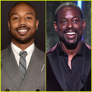 'Black Panther' Co-Stars Michael B. Jordan & Sterling K. Brown Attend Hollywood Film Awards 2018!