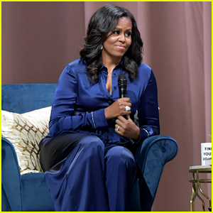 Michelle Obama Explains Why She Shies Away from Politics During Boston Visit!