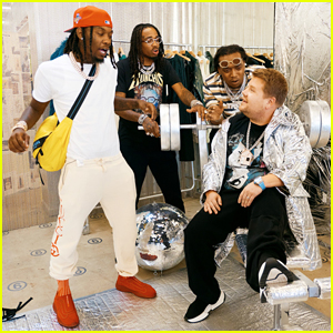 Migos Take James Corden Shopping on Hilarious 'Carpool Karaoke' Segment - Watch Here!