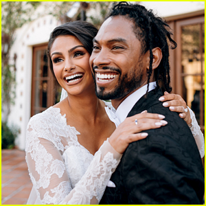 Miguel Marries Nazanin Mandi - See Wedding Photos!