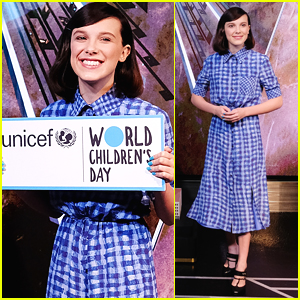 Millie Bobby Brown Lights Empire State Building in Honor of UNICEF & World Children's Day!
