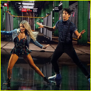 Milo Manheim & Witney Carson Nail The Charleston During 'DWTS' Finale - Watch Now!