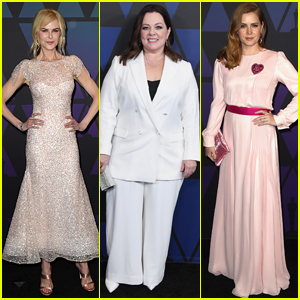 Nicole Kidman, Melissa McCarthy & Amy Adams Hit the Red Carpet at Governors Awards 2018!