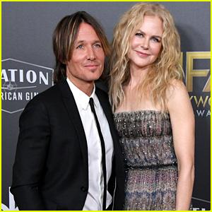 Keith Urban Supports Nicole Kidman at Hollywood Film Awards 2018!
