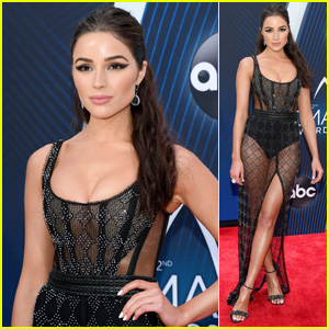 Olivia Culpo Looks Chic on the Red Carpet at CMA Awards 2018!