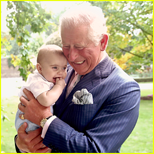 Prince Charles Shares Adorable Moment with Prince Louis in New Photo!