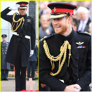 Prince Harry Suits Up for Field of Remembrance at Westminster Abbey