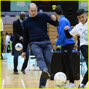 Prince William Praises Soccer for Bringing People Together