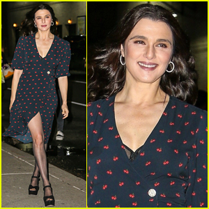 Rachel Weisz Steps Out in Style to Promote 'The Favourite' in NYC!