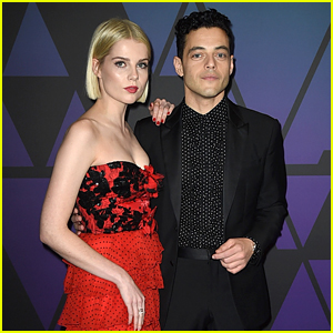 'Bohemian Rhapsody' Co-Stars & Couple Rami Malek & Lucy Boynton Attend Governors Awards 2018!
