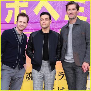 Rami Malek Brings 'Bohemian Rhapsody' To Japan!