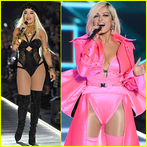 Rita Ora & Bebe Rexha Hit the Stage for Victoria's Secret Fashion Show 2018 Performances!