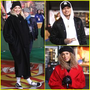 Rita Ora, Kane Brown, Leona Lewis & More Prep at Macy's Thanksgiving Day Parade Rehearsal!