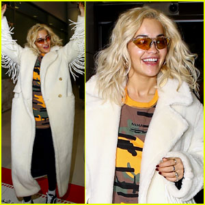 Rita Ora Shows Off Her Dance Moves on Her 28th Birthday! (Video)