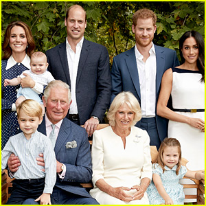 Prince Louis Joins the Royal Family for Latest Portraits!