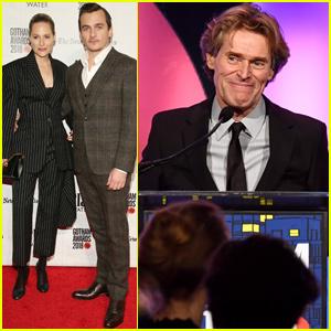 Rupert Friend Supports Gotham Tribute Honoree Willem Dafoe at Gotham Awards 2018!