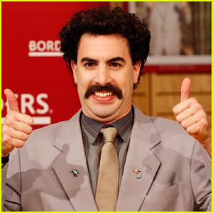 Sacha Baron Cohen Dresses as Borat to Vote: 'Great Success'