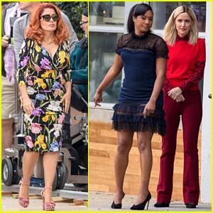 Salma Hayek, Tiffany Haddish, & Rose Byrne Start Filming 'Limited Partners' in Atlanta!