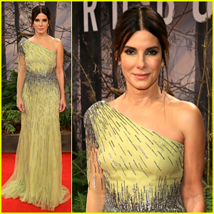 Sandra Bullock Stuns on Red Carpet at 'Bird Box' Berlin Premiere