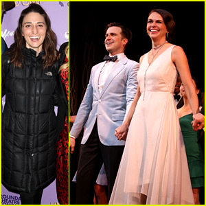 Sara Bareilles Supports Sutton Foster & Gavin Creel at 'My One & Only' Benefit!