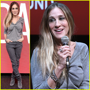 Sarah Jessica Parker Promotes 'Here and Now' After 'Divorce' Season Three Renewal!