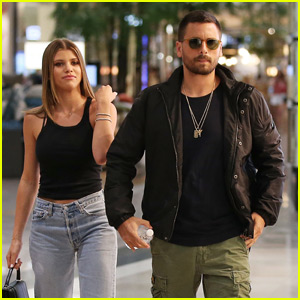Scott Disick Is Joined by Sofia Richie for Mall Appearance in Australia