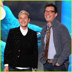 Sean Hayes Helps Ellen DeGeneres With Her Monologue - Watch!