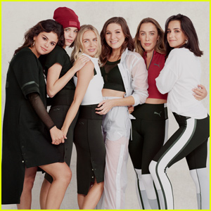 Selena Gomez Teams Up With Her Best Friends For 'Puma' Strong Girl Campaign!