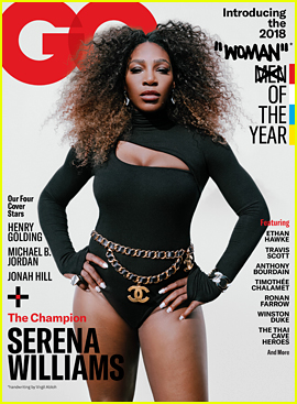Serena Williams Is GQ's Woman of the Year 2018!