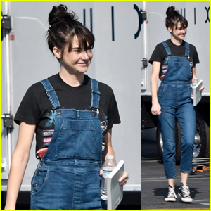 Shailene Woodley Hits the Set of Upcoming Drake Doremus Project in LA!