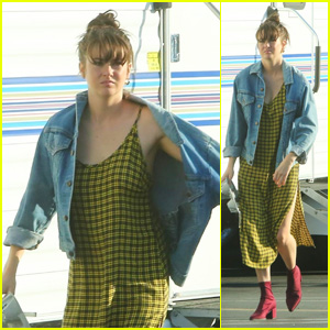 Shailene Woodley Continues Filming Her Upcoming Drake Doremus Movie in LA!