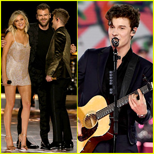 Shawn Mendes, Kelsea Ballerini, & The Chainsmokers Perform at Victoria's Secret Fashion Show 2018!