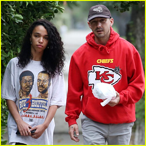 Shia LaBeouf & FKA twigs Spend a Low-Key Morning Together
