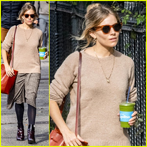Sienna Miller Shows Off Fall Fashion During a NYC Stroll