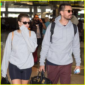Scott Disick & Sofia Richie Return From Australian Trip