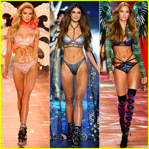 Stella Maxwell, Taylor Hill, & Josephine Skriver Wear Their Wings at VS Fashion Show 2018!