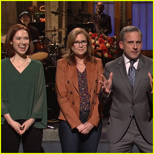 Steve Carell Gets Grilled About 'The Office' Reboot By Former Co-Stars on 'SNL' - Watch Now!