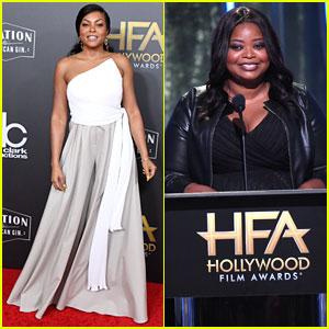 Taraji P Henson & Octavia Spencer Are Presenters at Hollywood Film Awards 2018