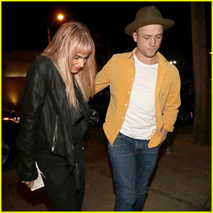 'Kingsman' Co-Stars Taron Egerton & Sofia Boutella Grab Dinner Together in West Hollywood