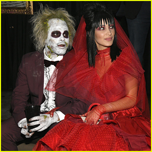 The Weeknd & Bella Hadid Go as Beetlejuice & Lydia Deetz for Halloween!